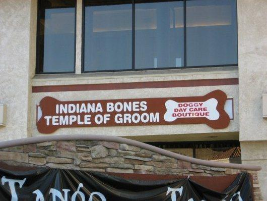 Indiana Bones and the Temple of Groom